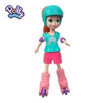 Polly Pocket Roller Chic Lila Doll ตุ๊กตาพอลลี่ พ็อกเก็ต โรลเลอร์ ชิค ไลลา