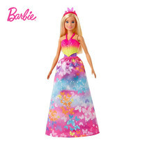 Barbie Dreamtopia Dress Up Doll Gift Set ตุ๊กตาบาร์บี้ ดรีมโทเปีย เปลื่ยนชุดได้ 18 แบบ GJK40