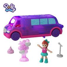 Polly Pocket Pollyville Party Limo ตุ๊กตาพอลลี่ พ็อกเก็ต พอลลี่วิลล์ ปาร์ตี้ ลิโม่ รถลีมูซีน