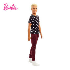 Ken Fashionistas Doll New Look Black & White - Original ตุ๊กตาบาร์บี้ผู้ชาย เคน แฟชั่นนิสต้า นิวลุค แบล็คแอนด์ไวท์