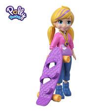 Polly Pocket Skate Rockin' Polly Doll ตุ๊กตาพอลลี่ พ็อกเก็ต สเก็ต ร็อคกิ้ง พอลลี่