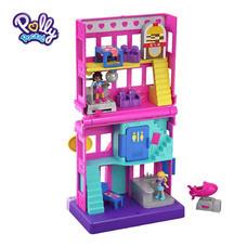 Polly Pocket Pollyville Diner ตุ๊กตาพอลลี่ พ็อกเก็ต พอลลี่วิลล์ ไดเนอร์ ร้านอาหาร