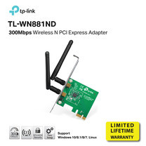 TP-LINK TL-WN881ND 300 Mbps Wireless N PCI Express Adapter by Speed Computer