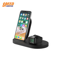 Belkin แท่นชาร์จไร้สาย Wireless Charging Dock (for iPhone + Apple Watch, with USB-A port)