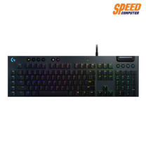 LOGITECH GAMING KEYBOARD G813 HTSYNC RGB (TACTILE SWITCH) by Speed Computer
