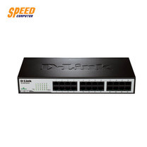 D-LINK DES-1024D HUB SWITCH 24 PORT 10/100 Life Time Warranty ( ใหม่ล่าสุด ) by Speed Computer
