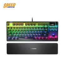 GAMING KEYBOARD (คีย์บอร์ดเกมมิ่ง) STEELSERIES APEX 7 TKL MECHANICAL (BLUE SWITCH) by Speed Computer