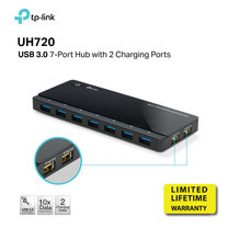 TP-LINK UH720 USB 3.0 7 PORT HUB WITH 2 CHARGING PORT by Speed Computer