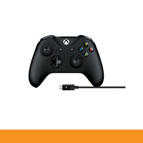 Microsoft Xbox Controller + Cable for Windows MCS-4N6-00003 Warranty 90 Days by speed com