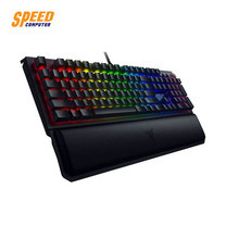 GAMING KEYBOARD (คีย์บอร์ดเกมมิ่ง) RAZER BLACKWIDOW ELITE GREEN SW KEY THAI by Speed Computer