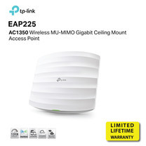 TP-Link EAP225 AC1350 Wireless MU-MIMO Gigabit Ceiling Mount Access Point by speed com