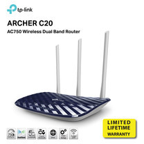 TP-LINK ARCHER C20 AC750 Dual Band Wireless Router by speed com