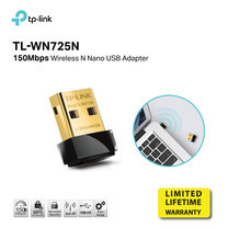 TP-LINK TL-WN725N 150Mbps Wireless N Nano USB Adapter by speed com