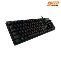LOGITECH GAMING KEYBOARD G512 TH CARBON TACTILE GX BROWN by Speed Computer