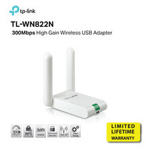 TP-LINK TL-WN822N High Gain Wireless N 300Mbps USB Adapter by speed com