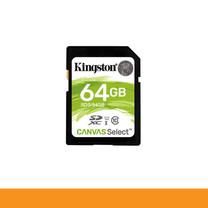 KINGSTON SDS/64GB CARD SD 64GB CLASS 10 R80 MB/s,W10 MB/s by Speed Computer