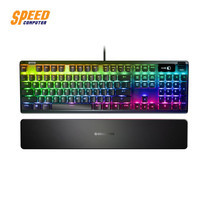 GAMING KEYBOARD (คีย์บอร์ดเกมมิ่ง) STEELSERIES APEX 7 TH MECHANICAL (RED SWITCH) by Speed Computer