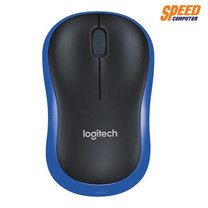 LOGITECH M185 MOUSE WIRELESS BLUE /BLACK COLOR 2.4 GHZ by Speed Computer