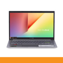 ASUS D413IA-EB250TS NOTEBOOK R5-4500U/DDR4 8G[ON BD.]/512G PCIE G3X2 SSD/AMD Radeon? Vega 8 Graphics/Backlit KB/Win10/FHD IPS/BACKPACK/Office H&S/TRANSPARENT SILVER by Speed Computer