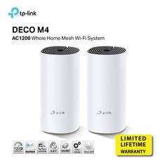TP-LINK DECO M4 PACK2 ROUTER MESH WIFI AC1200 by speed com