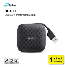 TP-LINK UH400 HUB USB 3.0 4-PORT PORTABLE HUB by Speed Computer