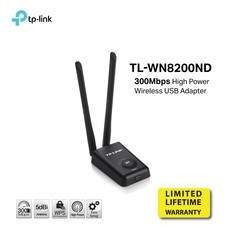 TP-LINK TL WN8200ND 300Mbps High Power Wireless USB Adapter by Speed Computer