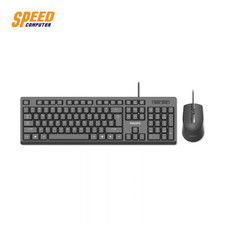PHILIPS KEYBOARD & MOUSE WIRED COMBO SPT6234 BLACK by Speed Computer