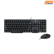 LOGITECH MK200 KEYBOARD+MOUSE USB CABLE 3YEAR // by Speed Computer