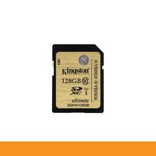 KINGSTON SDA10/128GB CARD SD 128GB CLASS10 HD VIDEO READ 90MB WRITE 45MB LIFTIME by speed computer