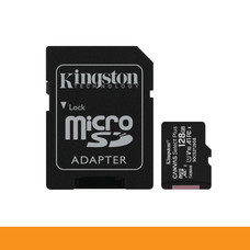 KINGSTON SDCS2 128GB MICRO SD CARD CANVAS SELECT PLUS C10 100MB/S READ by Speed Computer