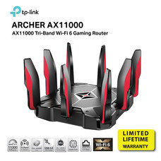 TP-LINK AX11000 GAMING ROUTER NEXT GEN TRI BAND by Speed Computer