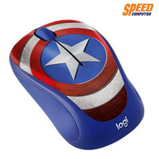 LOGITECH M238 MOUSE WIRELESS MAVEL CAPTAIN AMERICA  LGT-910-005561 by Speed Computer