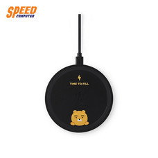 BOOST↑UP™ Bold Wireless Charging Pad (5/7.5/9/10W) with 1.5 Meter No Power Adapter