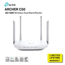 TP-LINK ARCHER C50 AC1200 Wireless Dual Band Router by Speed Computer