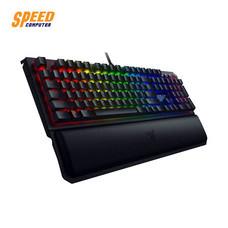 GAMING KEYBOARD (คีย์บอร์ดเกมมิ่ง) RAZER BLACKWIDOW ELITE GREEN SW KEY THAI by Speed Computer