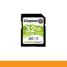 KINGSTON SDS/32GB CARD SD 32GB CLASS 10 R80 MB/s,W10 MB/s by Speed Computer