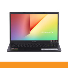 ASUS D413IA-EB303TS NOTEBOOK R7-4700U/DDR4 8G[ON BD.]/512G PCIE G3X2 SSD/AMD Radeon? Vega 10 Graphics/Backlit KB/Win10/FHD IPS/BACKPACK/Office H&S/INDIE BLACK by Speed Computer