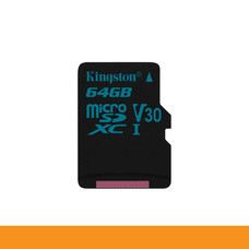 KINGSTON SDCG2/64GB  CARD MICRO SD 64GB ACTION CAMERA UHS-I U3 ULTRA HIGH SPEED CLASSE READ 90MB/S by Speed Computer