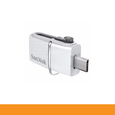 SANDISK SDDD2-032G-GAM46W FLASHDRIVE OTG 32GB USB3.0 DUAL COM & ANDROID ULTRA SPEED UP TO 150MB WHITE by Speed Computer