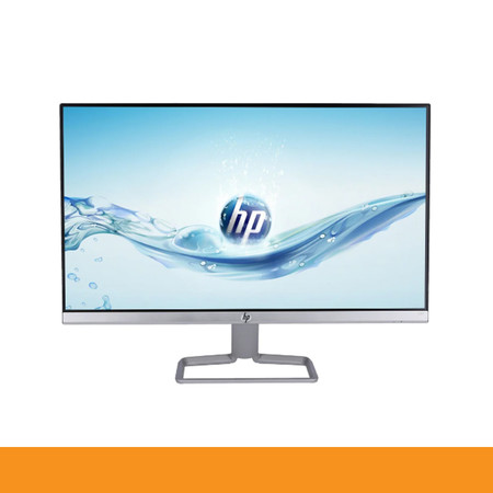 HP 24F Monitor 23.8inch/IPS/Full HD/Ultra Slim/SILVER-BLACK by Speed Computer