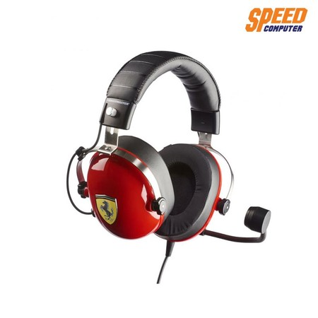 THRUSTMASTER T.RACING SCUDERIA FERRARI EDITION GAMING HEADSET by Speed Computer