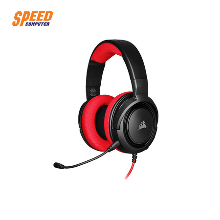 CORSAIR GAMING HS35 STEREO RED 3.5MM