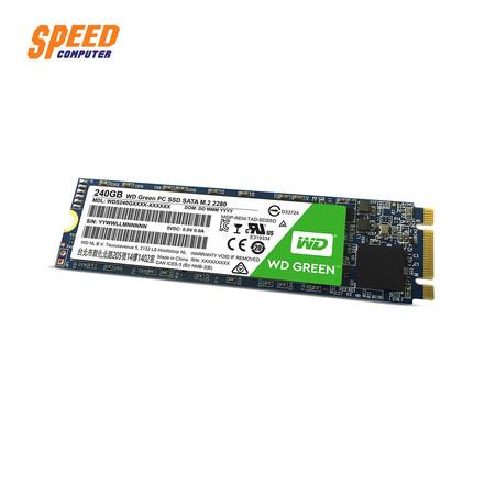 WESTERN WDS240G2G0B-00EPW0 HDD SSD GREEN 240GB