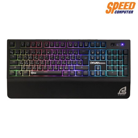 SIGNO KEYBOARD GAMING KB730 RUBBER DOME SW 7 COULER by Speed Computer