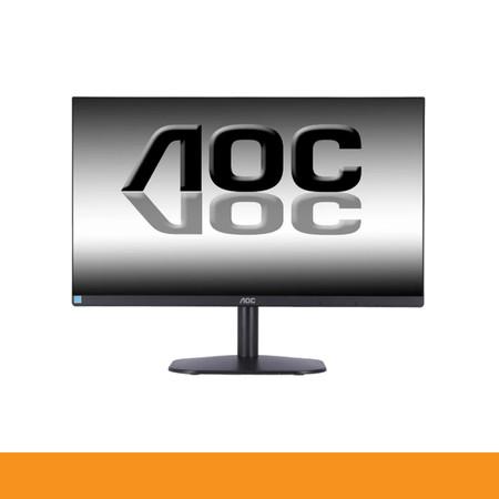 AOC MONITOR 24B2XH/67 23.8 IPS 1920X1080 6MS 75Hz VGA HDMI WALL MOUNT 3YEAR by Speed Computer