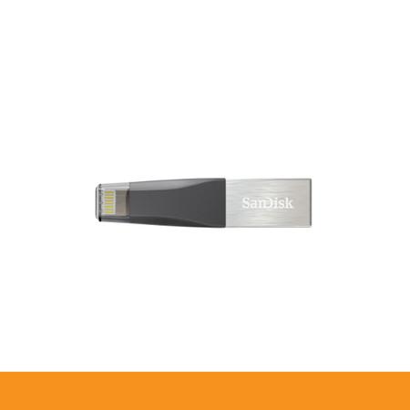 SANDISK SDIX40N-064G-GN6NN FLASHDRIVE OTG 64GB IXPAND MINI FOR IPHONE IPAD by Speed Computer