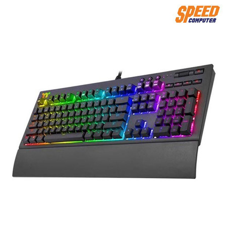 TT PREMIUM KEYBOARD X1 RGB PLUS CHERRY MX BLUE SW THAI by Speed Computer