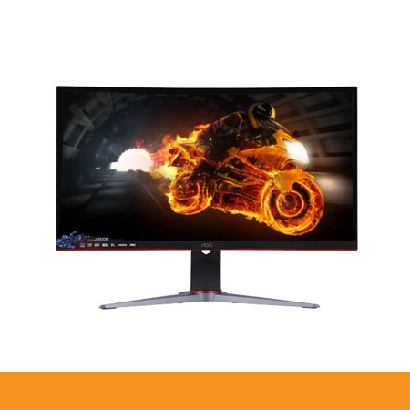 AOC MONITOR C27G2/67 CURVED IPS FREE SYNC GAMING 27INCH 165Hz 1920x1080 1MS HDMI DP VGA 3YEAR by Speed Computer
