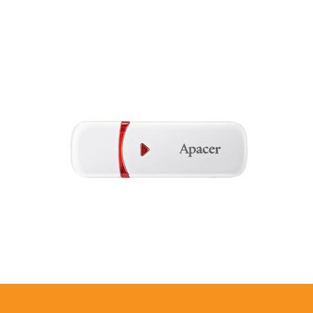 APACER AH333 FLASHDRIVE 64GB WHITE USB2.0 by Speed Computer
