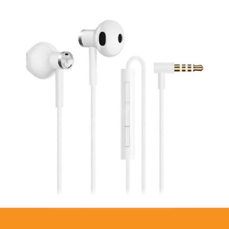 HEADPHONE IN EAR (หูฟัง อินเอียร์) MI DUAL DRIVER EARPHONES (WHITE) (ของแท้ประกันศูนย์ไทย) by Speed Computer